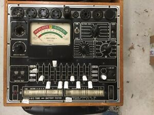Precision Apparatus Series 612 Tube And Battery Tester