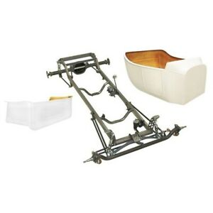 Deluxe 1923 T Bucket Frame Kit Std Body Bed Flat Ford Spindles Plain