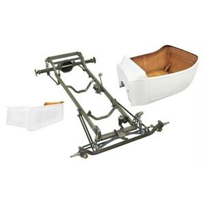 Deluxe 1923 T Bucket Frame Kit Std Body Bed Channeled Ford Chrome