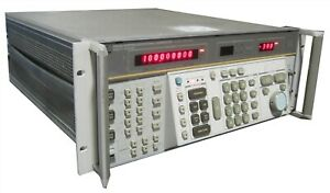 Hewlett Packard Hp 8662a Synthesized Signal Generator System 10khz 1280mhz