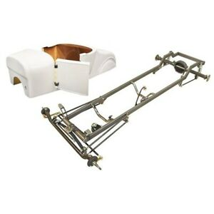 Deluxe 1927 T Bucket Frame Kit Deluxe Body Unchanneled Chevy Chrome