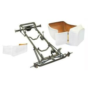 Deluxe 1923 T Bucket Frame Kit Deluxe Body Ford Spindles Chrome