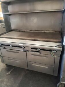 U s Range Flat Top Grill With Drawers