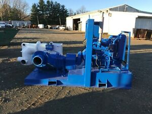 Holland W12re Water Trash Pump Perkins Diesel