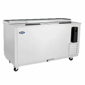 Atosa 65 Horizontal Stainless Steel Commercial Beer Wine Drink Back Cooler