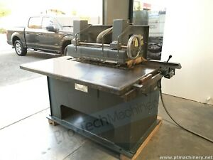 Diehl Sl 55 Straight Line Industrial Rip Saw Woodworking Solid Machine Works