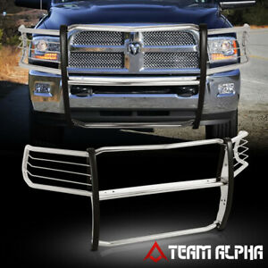 Fit 2010 2018 Dodge Ram 2500 3500 Stainless Steel 1 5 Bumper Grille Brush Guard