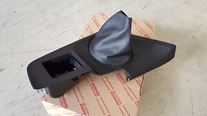 Oem Toyota Supra 93 98 Manual 6 speed Shifter Panel Boot Genuine Rhd
