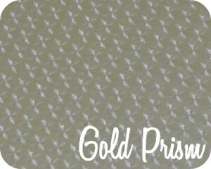 15 X 47 Yards Stahls Fashion film Electric Heat Transfer Vinyl Gold Prism