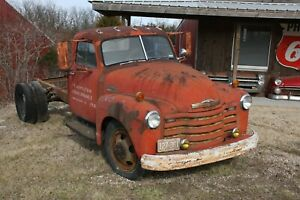 1950 Chevy Chevrolet Truck Cab Chassis