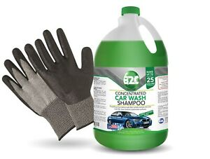 Premium Car Wash Shampoo And Gloves B2c 1 Gallon