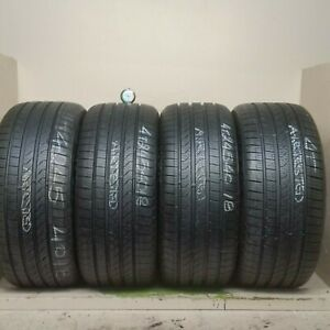 Set 4 Tires 245 40 18 Pirelli Cinturato P7 A0 9 50 10 90 32 Tread 97h And 93h