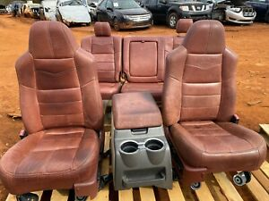 2008 2009 2010 Ford F250 F350 King Ranch Complete Set Of Seats Front Rear Nice
