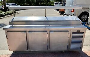 Pizza Prep Table 89 Stainless Steel