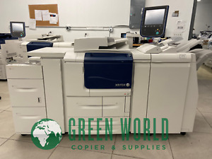 Xerox D110 Copier printer With Light Pro Finisher 110ppm Low Meter 684k