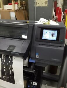 Used Hp Latex 360 64 Wide Format Printer excellent Condition