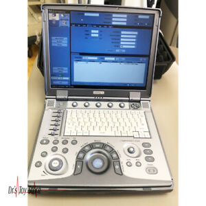 Ge Logiq E Portable Ultrasound System With 2 Probes