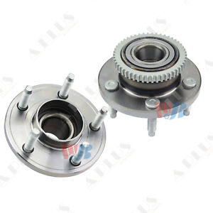 Wjb 2 Front Wheel Hub Bearing Assembly Fit Avanti 05 07 Ford Mustang 4 wheel Abs