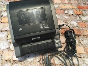 Brother P touch Ql 1050 Label Thermal Printer 4x6 As Is