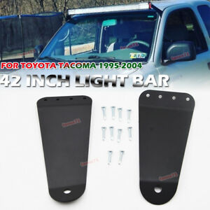 For 1995 2004 Toyota Tacoma 42 Straight Curved Led Light Bar Roof Mount Bracket