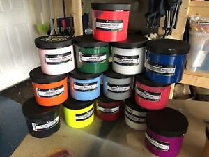 Screen Printing Ink Bundle Plastisol Water Base
