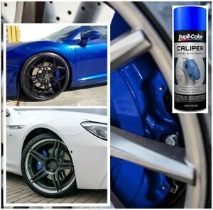 Blue Coating Caliper Brake Rotors Drums Engine Blocks High Temp Paint Spray Can