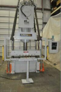 60 Ton Pacific 4 Post Hydraulic Press 20 Stroke 25 Daylight 7 5 Diameter Ram