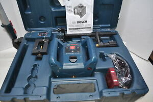 Bosch Grl 240 Hv 800ft Rotary Laser Level With Case And Tripod