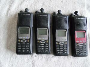 Lot Of Four Motorola Xts5000 P25 9600 Portable Radio