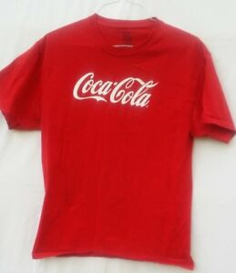 Fruit of the Loom Coca Cola Jersey T-Shirt Size L