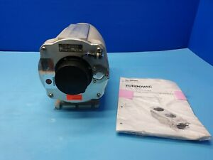 Oerlikon Leybold Turbovac Turbo Pump Tw 220 150