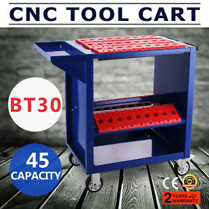Bt30 Cnc Tool Trolley Cart Holders Toolscoot Workstation 4 Wheels Heavy Duty