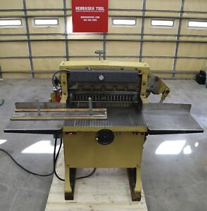 Challenge Hydraulic Paper Cutter 26 Model Hbe Size 265 3 Hp 1 Ph