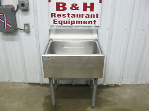 Servend 22 Stainless Under Bar Ice Well Bin 8 Circuit Cold Plate Fbc1522 8