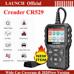 Launch Diagnostic Scanner Tool Obd2 Car Code Reader Tester For Ford Gm Bmw Benz