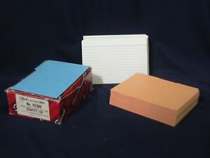 Lot Of 167 Smead Card Guides 623be And 100 Index Cards C204