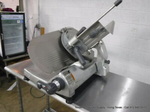 Hobart Commercial 2612 Manual Slicer 12 Blade Sharpener Not Included