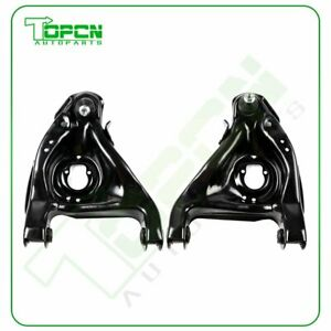 Qty 2 Front Lower Control Arms Fits 1995 2001 2002 2003 Chevrolet S 10 Blazer