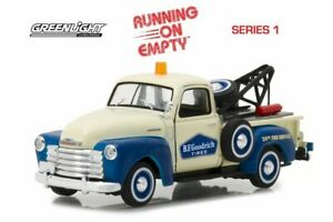 1953 Chevy 3100 Tow Truck Greenlight 87010c24 143 Scale Diecast Car