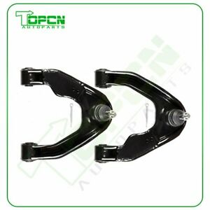2pcs Front Upper Control Arms Steering Set Fits 2001 2004 Nissan Frontier 3 3l