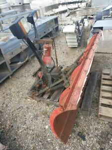 Western 8 Snow Plow With Lights Good Blade Good Condition Plow Only