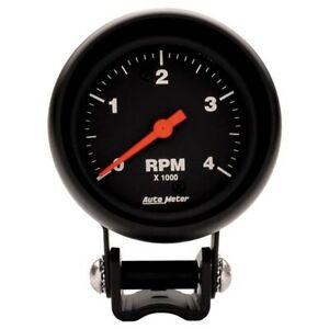 Autometer 2890 Z series Air core Pedestal Tach 4k Rpm 2 5 8 Inch