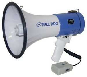 Pyle Pmp50 Professional Piezo Dynamic Mini Megaphone 50w Talk Siren Mode