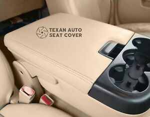 2010 2011 Chevy Silverado 1500 2500hd Lt Ls Ltz Center Console Lid Cover Tan