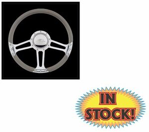 Billet Specialties 29263 Draft Select Edition Steering Wheel Polished 14