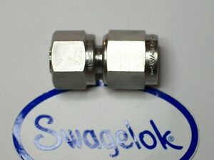 1 Swagelok Stainless Steel Union Fitting 3 8 Tube X 3 8 An Ss 600 a 6anf