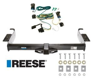 Reese Trailer Tow Hitch For 96 19 Chevy Express Gmc Savana Van W Wiring Harness
