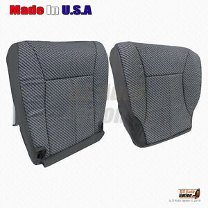 1998 1999 00 2001 2002 Dodge Ram 1500 2500 3500 Driver Cloth Seat Cover Dk Gray