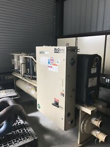 Mcquay Water Cooled Chiller 130 Tons Manufactured In 2009
