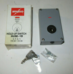 Amseco Husk 10 Hold up Switch S p d t P n 507 010sk Switch Key Resetable